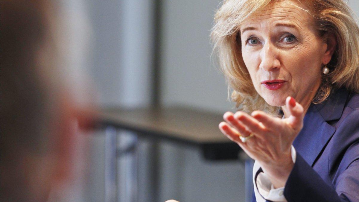 Bernadette Spinnen Pressekonferenz