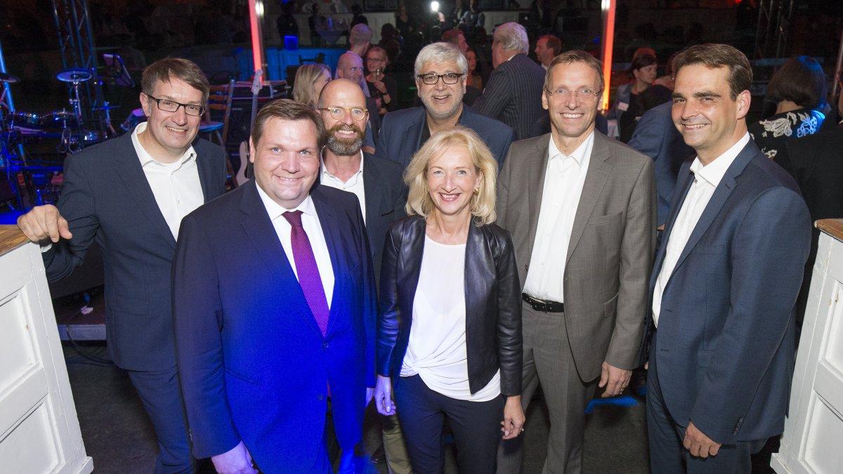 Abendempfang bcsd-Vorstand mit Krefelds Oberbürgermeister Frank Meyer
