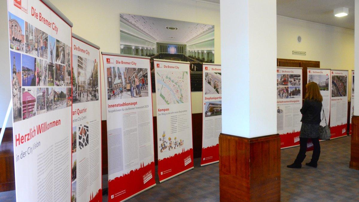 Ausstellung Bremen City